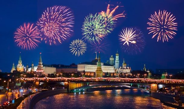 Салют в Москве