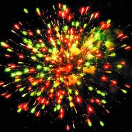 Фейерверк с шарами Пушечное ядро