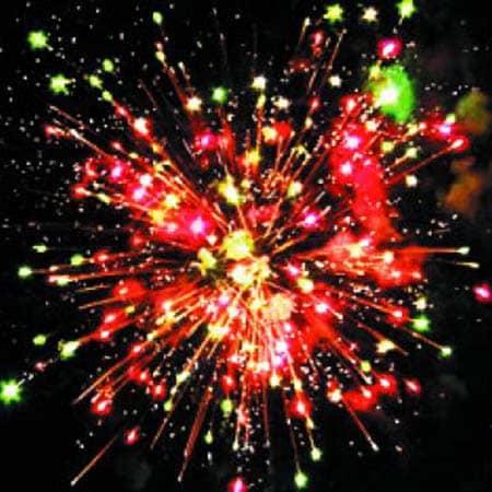 Фейерверк Огненный цвет 8 салютов
